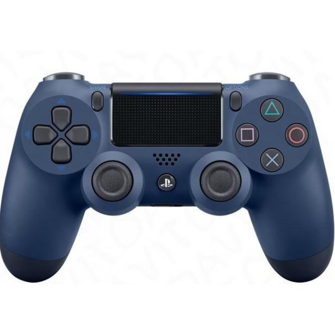 Геймпад Sony Dualshock 4 (PS4) V2 Deep Blue (Синий тёмный)