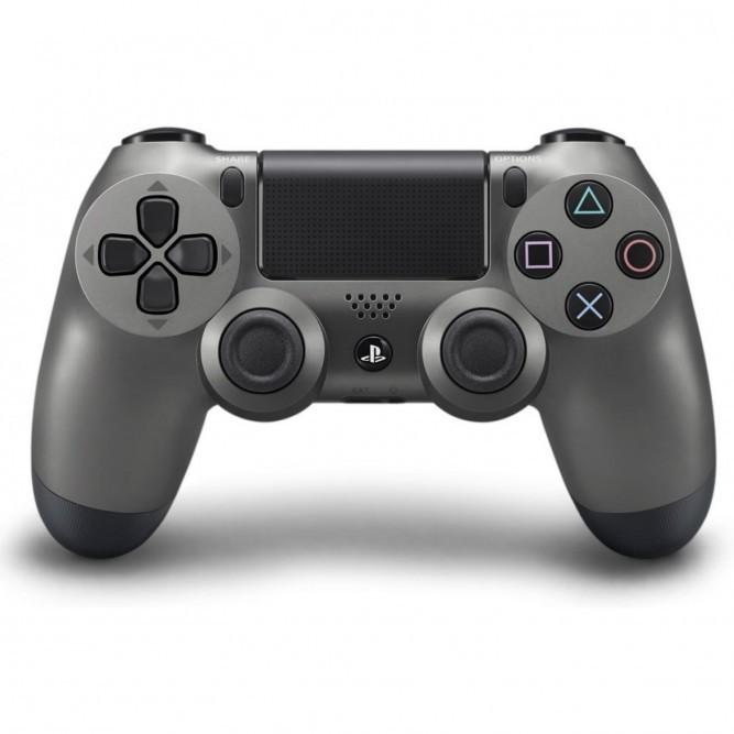 Геймпад Sony Dualshock 4 (PS4) V2 Steel Black (Стальной черный)