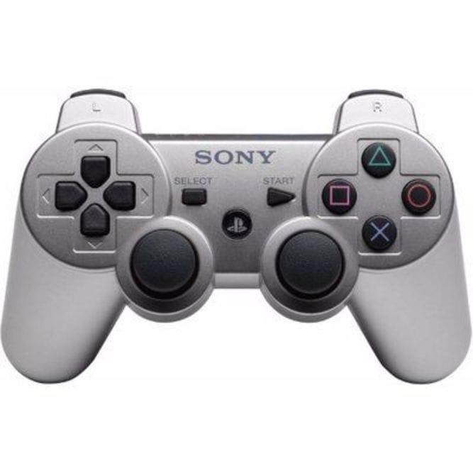 Геймпад Sony DualShock 3 (PS3), Серебряный