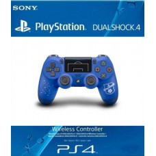 Геймпад Sony Dualshock 4 V2 (PlayStation FC Limited Edition) (PS4) Синий