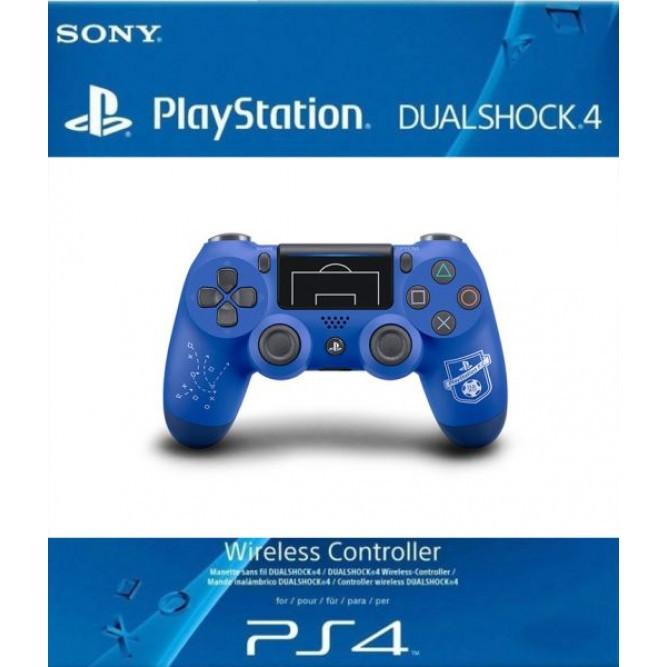 Геймпад Sony Dualshock 4 V2 (PlayStation FC Limited Edition) (PS4) Синий