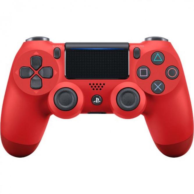Геймпад Sony DualShock 4 V2 (PS4) Красный (Red Magma) б/у