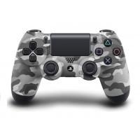 Геймпад Sony DualShock 4 (PS4) V1 (белый камуфляж) б/у