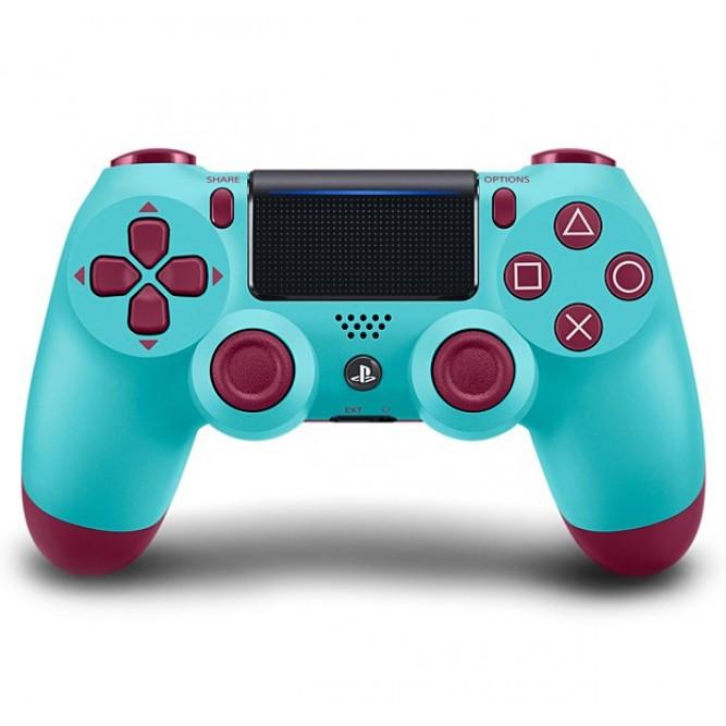 Геймпад Sony DualShock 4 (PS4) V2, Голубо-черный (Китай)