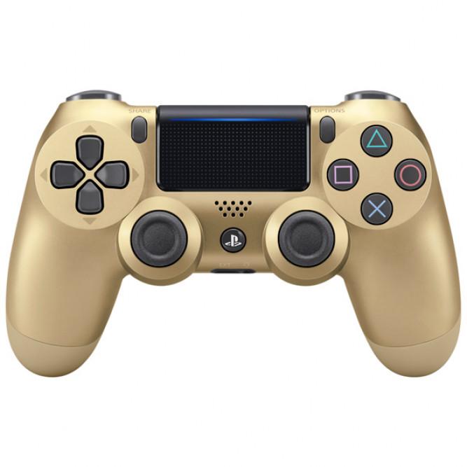 Геймпад Sony DualShock 4 (PS4) V2, Золотой, б/у