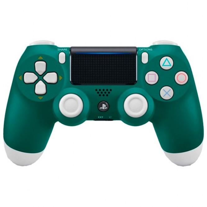 Геймпад Sony DualShock 4 (PS4) V2, Зелено-Белый (Китай)