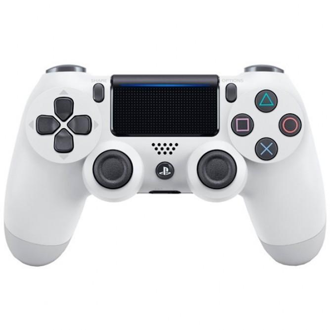 Геймпад Sony DualShock 4 (PS4) V2 Белый б/у
