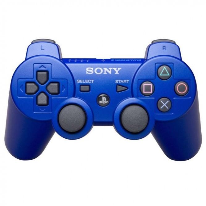Геймпад Sony Dualshock 3 (PS3) Синий