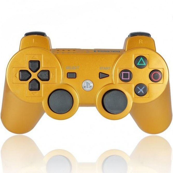 Геймпад Sony Dualshock 3 (PS3) (Аналог) Золотой