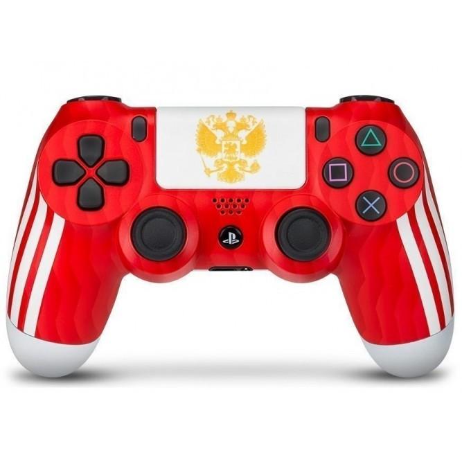 Геймпад Sony DualShock 4 V2 «Сборная России» (PS4) б/у