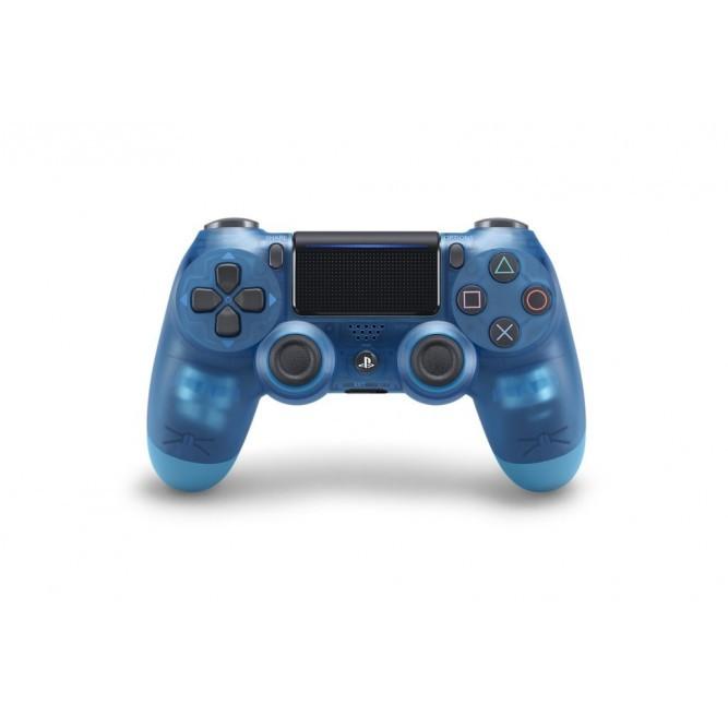 Геймпад Sony Dualshock 4 (PS4) V2 Translucent Blue (Прозрачный Синий)