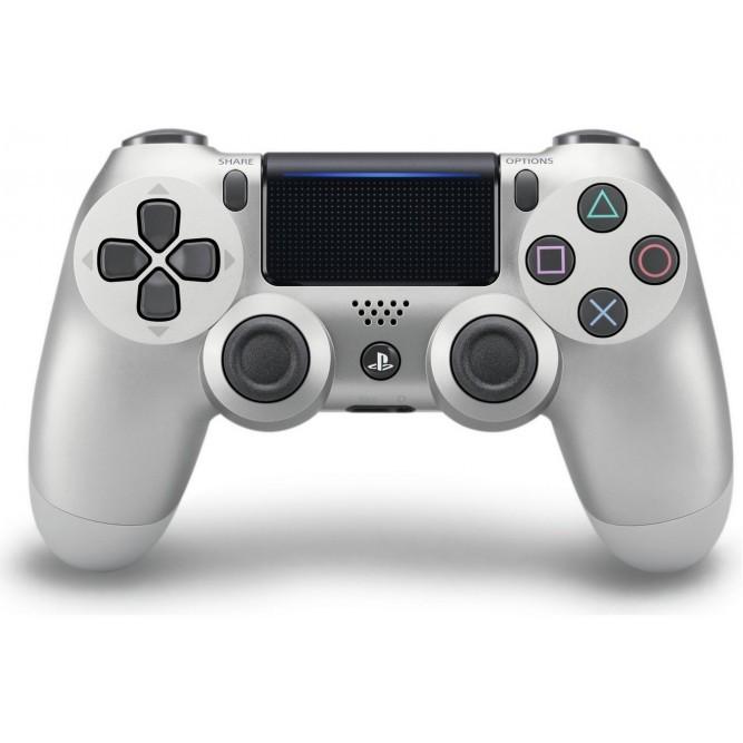 Геймпад Sony DualShock 4 (PS4) V2, Серебряный (Китай)