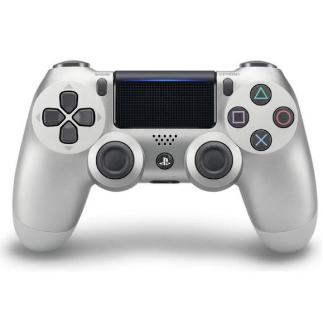 Геймпад Sony Dualshock 4 (PS4) V2 Серебряный б/у