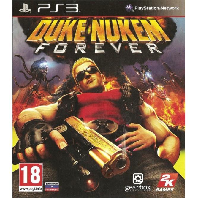 Игра Duke Nukem Forever (PS3) б/у
