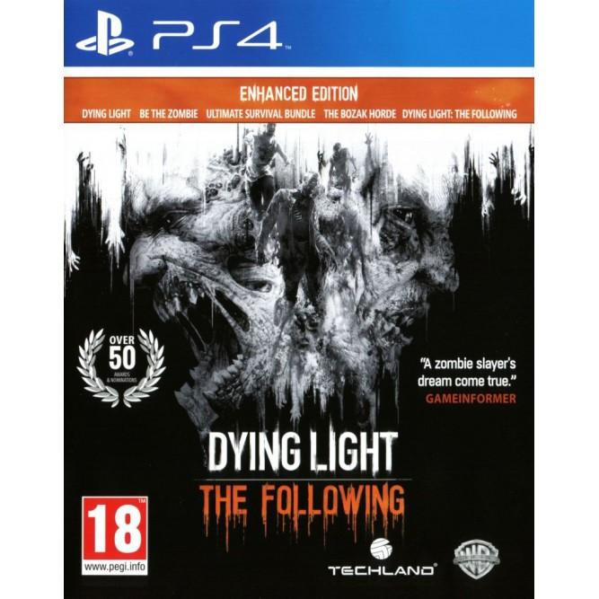 Игра Dying Light: The Following (Enhanced Edition) (PS4) (rus sub) б/у