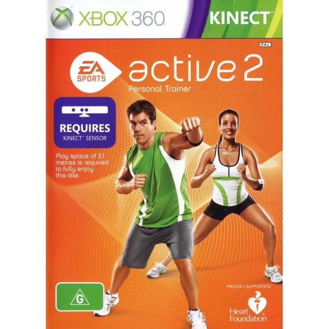 Игра EA Sports Active 2: Personal Trainer (Только для Kinect) (Xbox 360) б/у