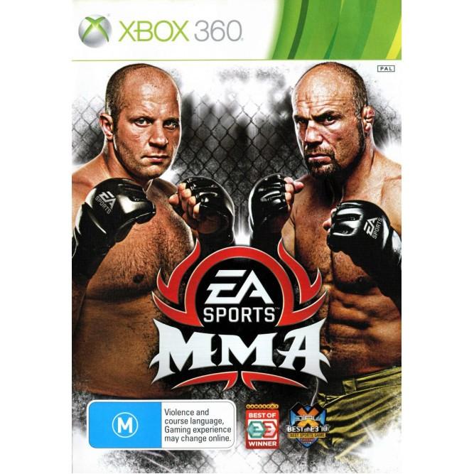 Игра EA Sports MMA (Xbox 360) б/у