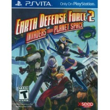 Игра Earth Defense Force 2: Invaders from Planet Space (PS Vita) (eng)