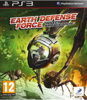 Игра Earth Defense Force: Insect Armageddon (PS3) (eng) б/у