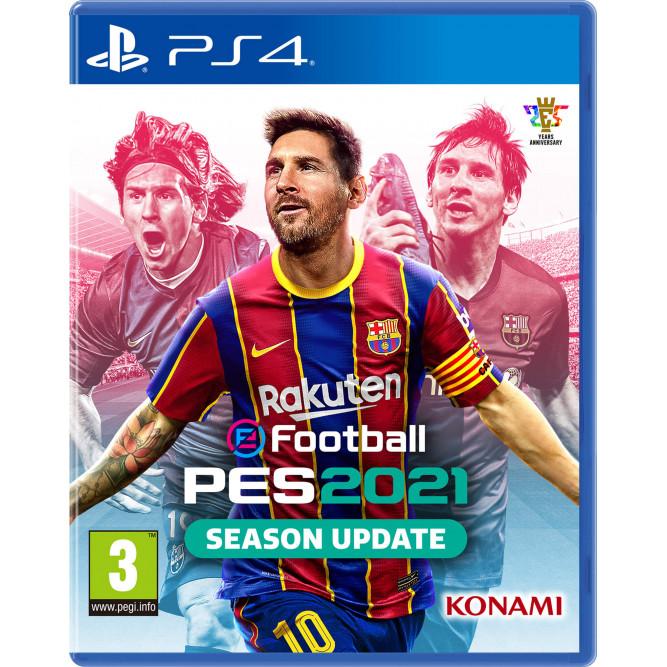 Игра eFootball PES 2021: Season Update (PS4) (rus sub)