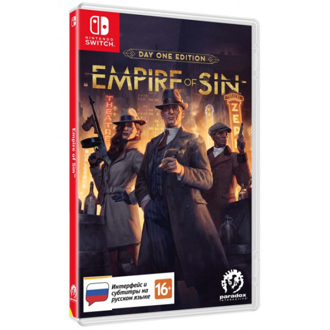 Игра Empire of Sin: Издание первого дня (Nintendo Switch) (rus sub)