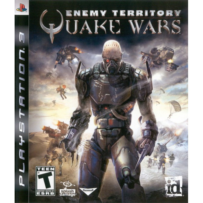Игра Enemy Territory: Quake Wars (PS3) б/у