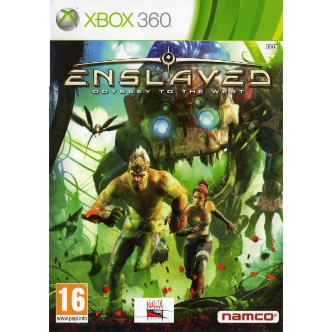 Игра Enslaved: Odyssey to the West (Xbox 360) б/у