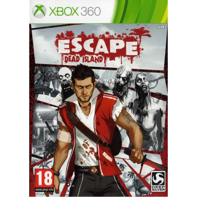 Игра Escape Dead Island (Xbox 360) (eng) б/у
