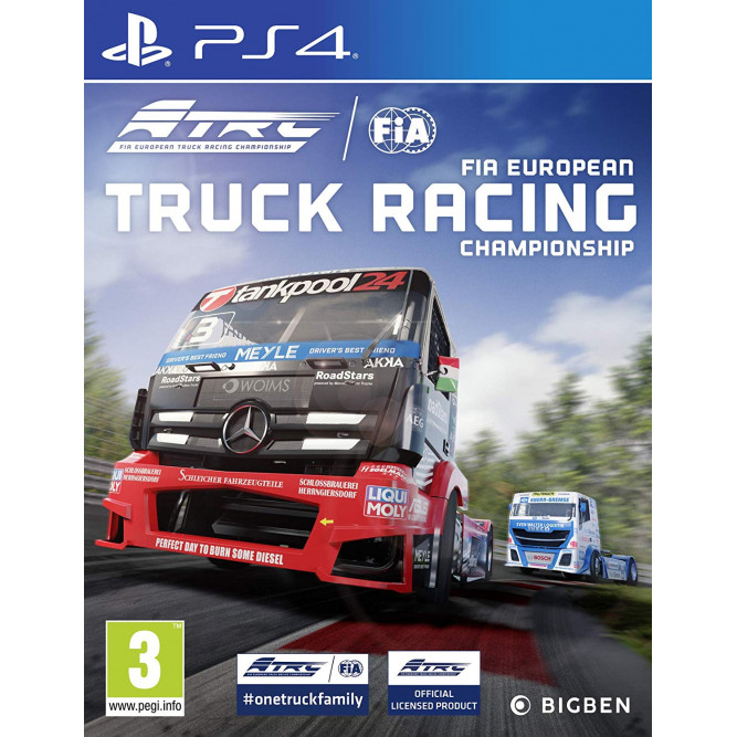 Игра Truck Racing Championship (PS4) (eng)