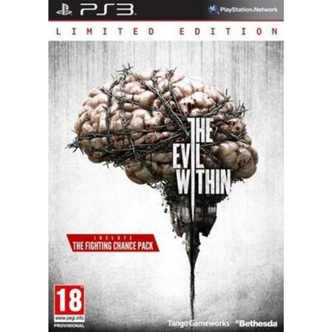 Игра The Evil Within Limited Edition (Специальное издание) (PS3)