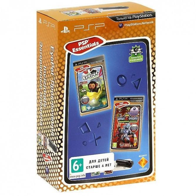 Комплект EyePet + Invisimals + камера PSP (rus)