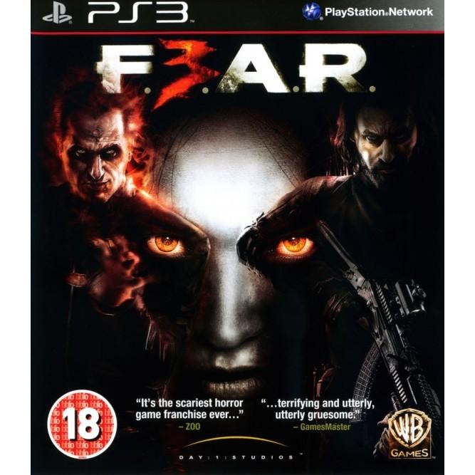 Игра FEAR 3 (PS3) б/у (rus)