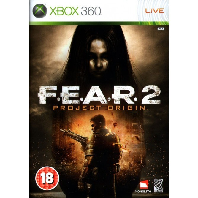 Игра FEAR 2: Project Origin (Xbox 360) б/у