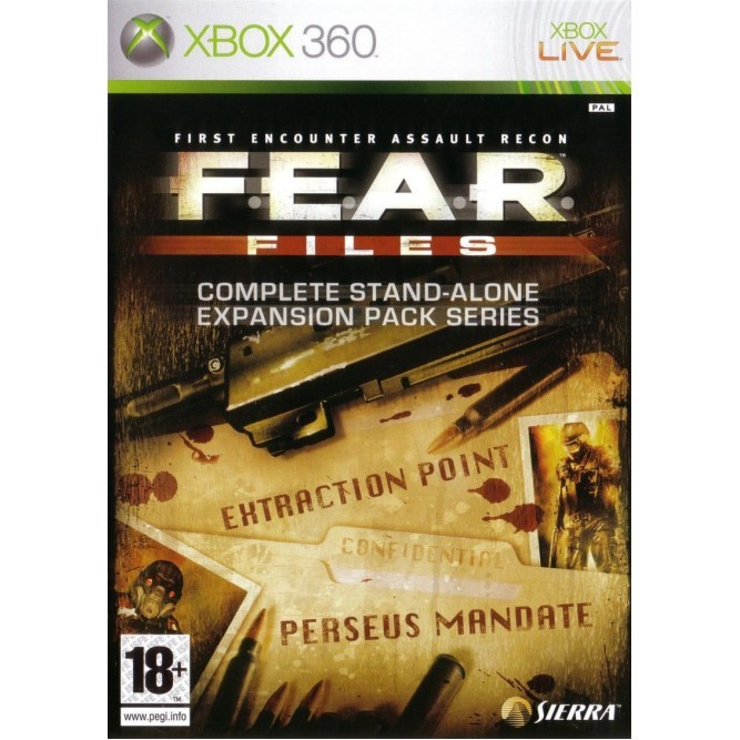 Игра FEAR Files (Xbox 360) б/у