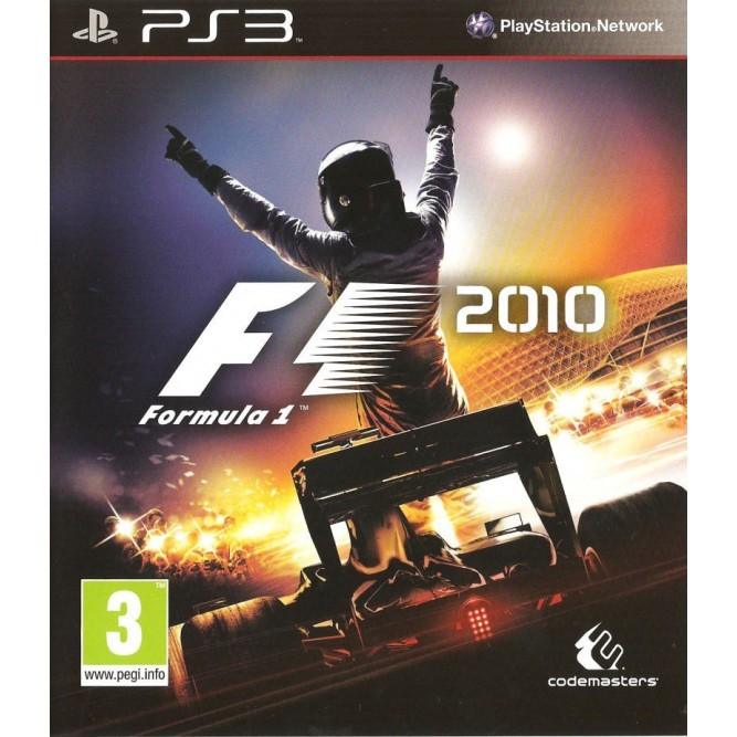 Игра F1 2010 (PS3) (eng) б/у