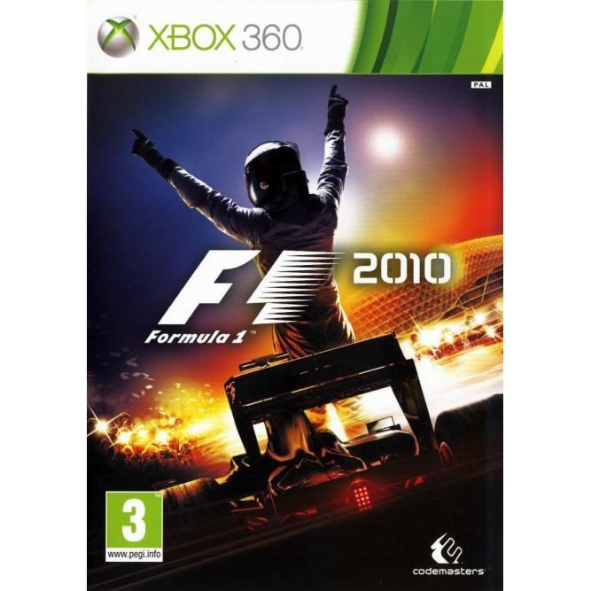 Игра F1 2010 (Formula One) (Xbox 360) (eng) б/у