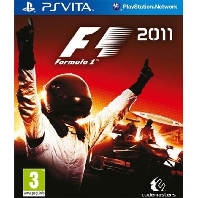 Игра F1 2011 (PS Vita) б/у