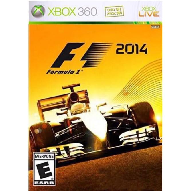 Игра F1 2014 (Xbox 360) б/у