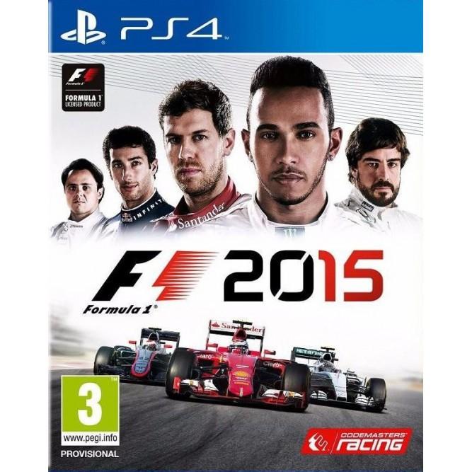 Игра F1 2015 (Formula One) (PS4) (rus) б/у