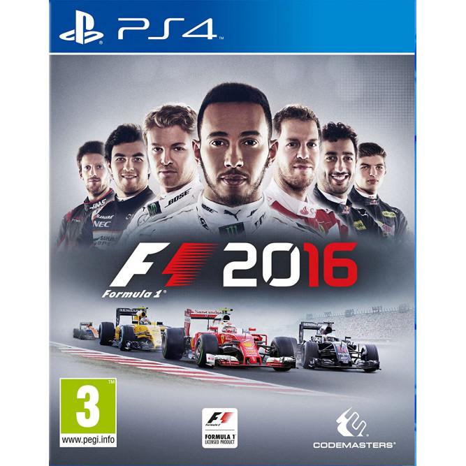 Игра F1 2016 (Formula One) (PS4) (rus) б/у