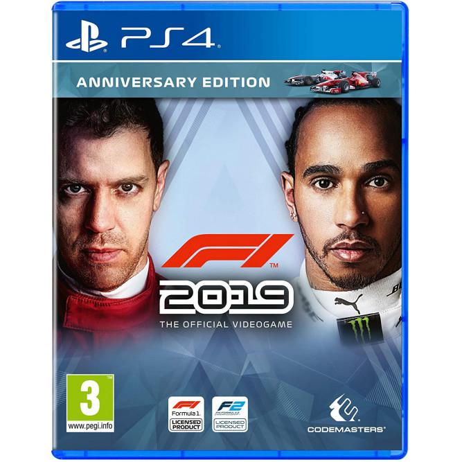Игра F1 2019 (Formula One) (Anniversary Edition) (PS4) (rus) б/у