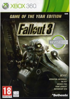 Игра Fallout 3. Game of the Year Edition (Xbox 360) б/у