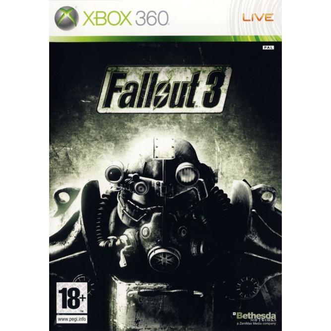 Игра Fallout 3 (Xbox 360) б/у (eng)