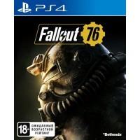 Игра Fallout 76 (PS4) (rus sub) б/у