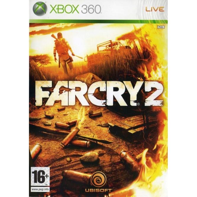 Игра Far Cry 2 (Xbox 360) б/у