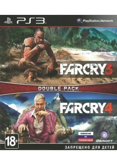 Игра Far Cry 3 + Far Cry 4 (PS3) (rus) б/у