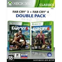 Игра Far Сry 3 + Far Cry 4 (Xbox 360) б/у