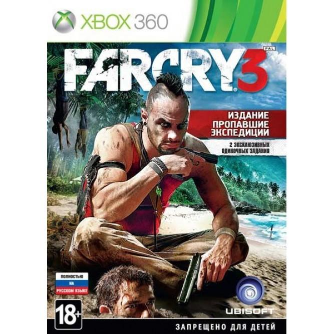 Игра Far Cry 3. Издание «Пропавшие Экспедиции» (Xbox 360) б/у