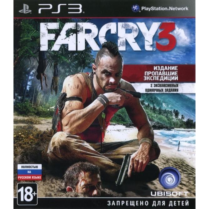 Игра Far Cry 3. Издание «Пропавшие экспедиции» (PS3) б/у
