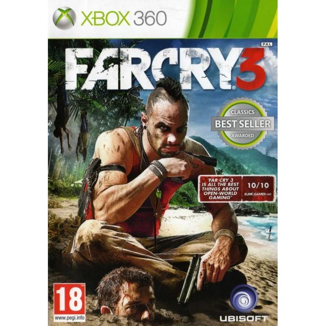 Игра Far Cry 3 (Xbox 360) б/у